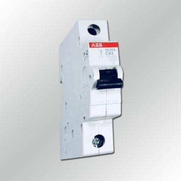 Автоматический выключатель ABB SH201L C63